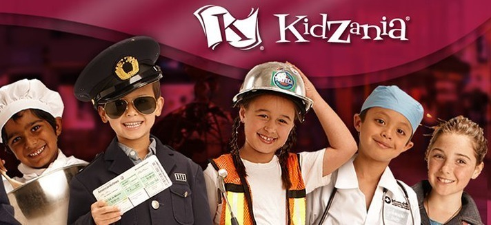 Photo: Kids role playing jobs at KidZania
