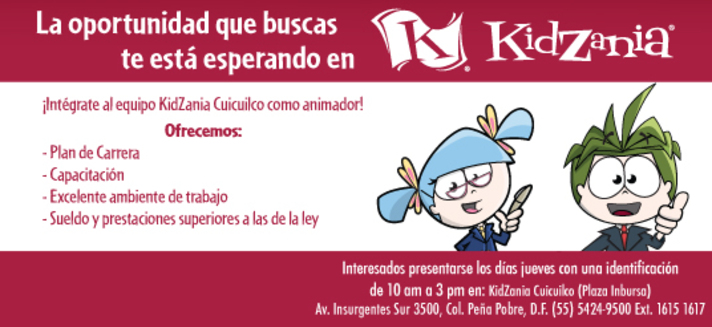 Picture of a child driving at KidZania Cuicuilco