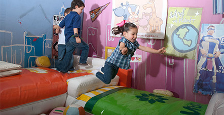 Picture: Kids playing house