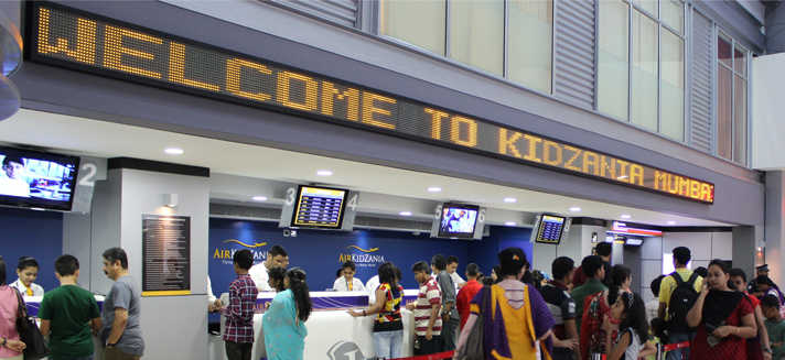 Image: R City Mall pic with KidZania Mumbai branding