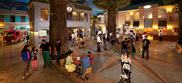Image: photograph of KidZania